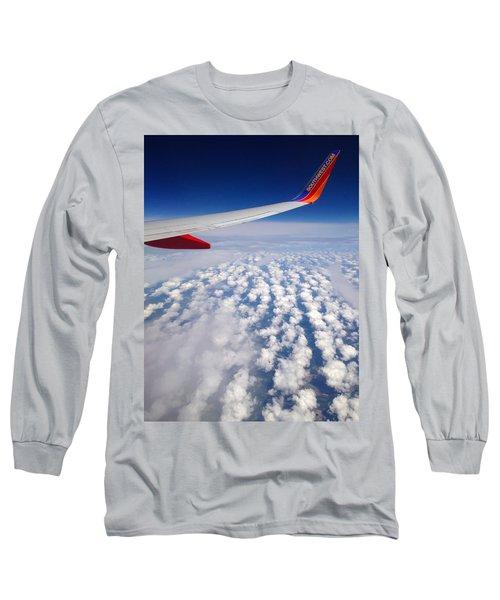 Flight Home Long Sleeve T-Shirt by Debra Martz