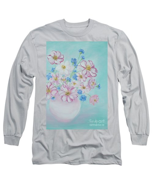Flowers In A Vase. Inspirations Collection Long Sleeve T-Shirt