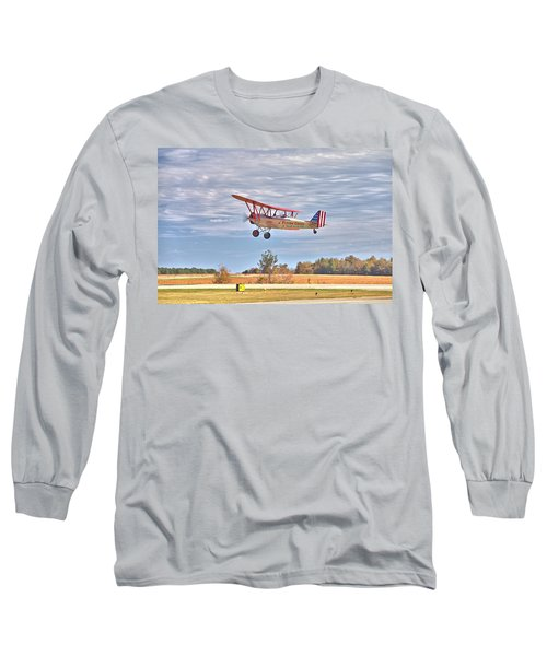 Flying Circus Barnstormers Long Sleeve T-Shirt by Gordon Elwell