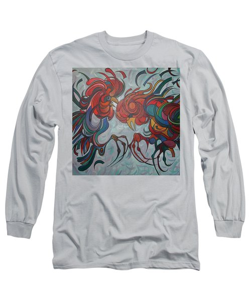 Flying Feathers Long Sleeve T-Shirt