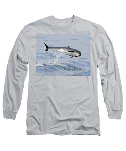 Flying Sideways Long Sleeve T-Shirt by Shoal Hollingsworth