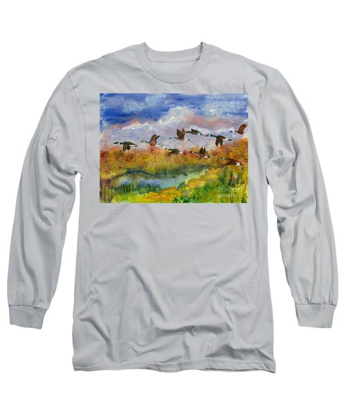 Flying South Long Sleeve T-Shirt