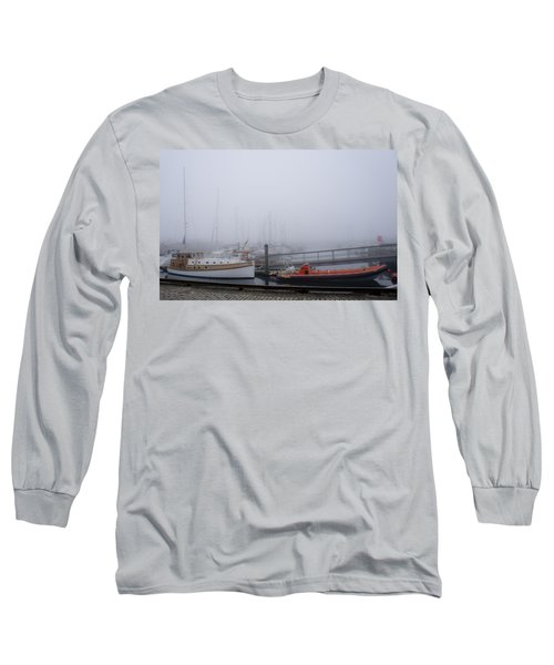 Fog In Marina IIi Long Sleeve T-Shirt