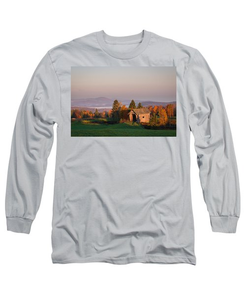 Fog In The Valley Long Sleeve T-Shirt