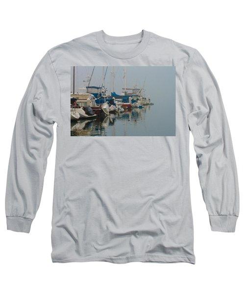 Foggy Harbor Long Sleeve T-Shirt