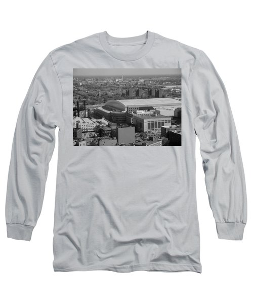 Ford Field Bw Long Sleeve T-Shirt