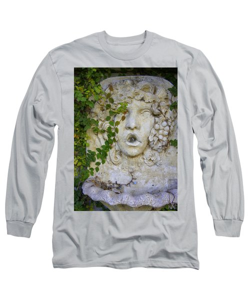Forgotten Garden Long Sleeve T-Shirt by Laurie Perry