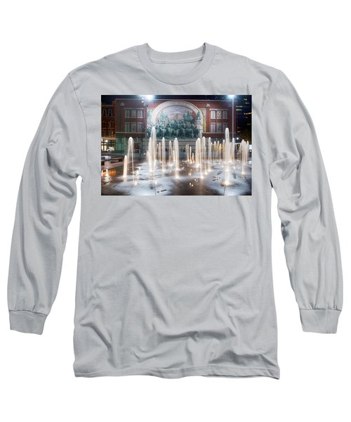 Fort Worth Sundance Square Aug 2014 Long Sleeve T-Shirt