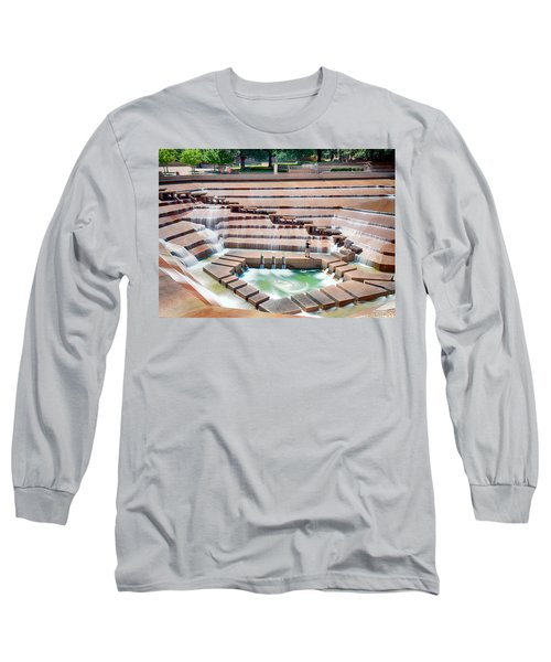 Fort Worth Water Garden V7 Long Sleeve T-Shirt