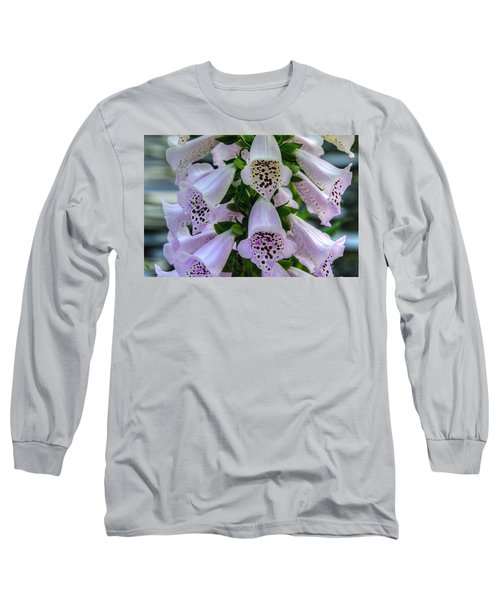 Foxglove At Waters Edge Long Sleeve T-Shirt