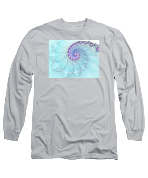 Fractal 17 Long Sleeve T-Shirt by Lena Auxier