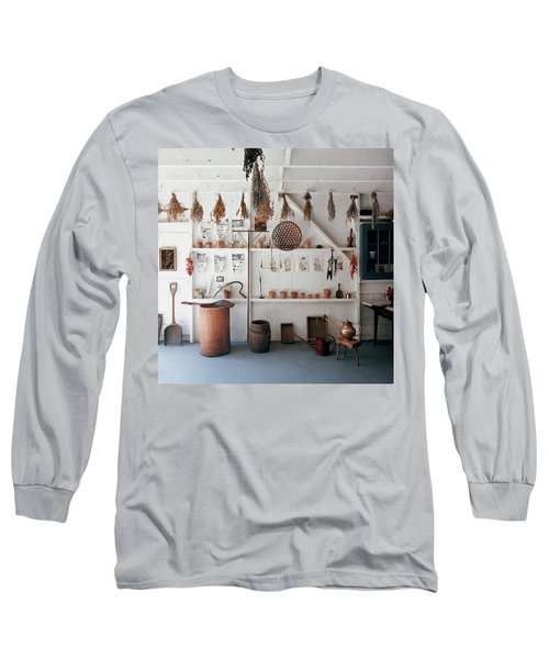 Frank Macgregor Smith's Gardening Area Long Sleeve T-Shirt