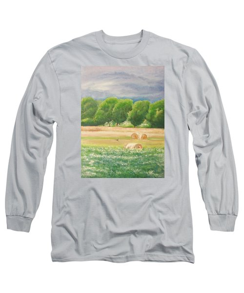 Long Sleeve T-Shirt featuring the painting Freedom by Jane  See