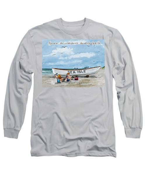 Friends By The Sea  Long Sleeve T-Shirt