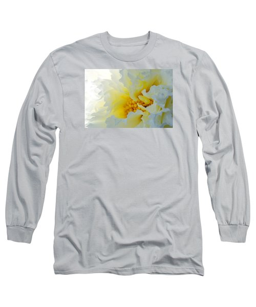 Long Sleeve T-Shirt featuring the photograph Frilling by Wendy Wilton