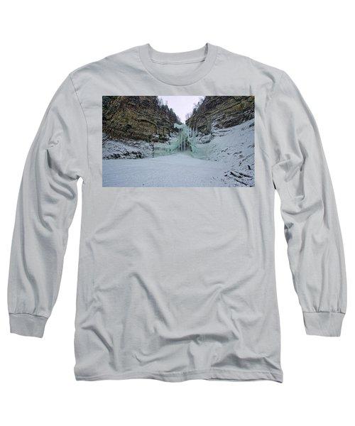 Frozen Waterfalls Long Sleeve T-Shirt