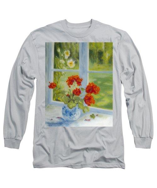 Geranium Morning Light Long Sleeve T-Shirt