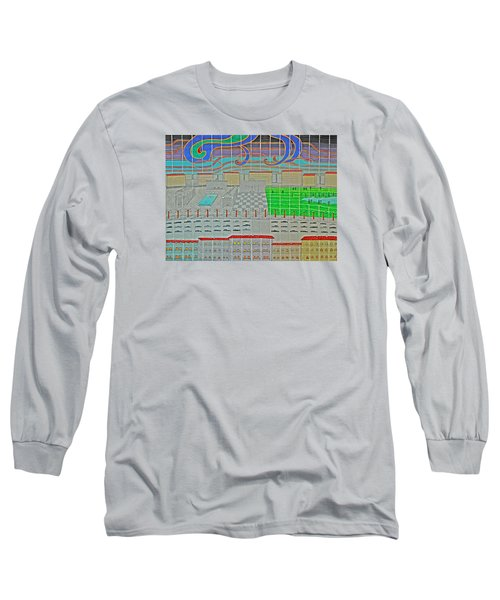 German Cityscape Long Sleeve T-Shirt