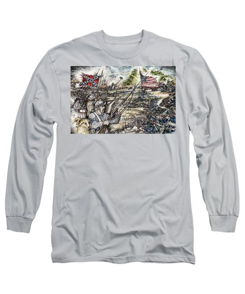 Gettysburg Ash's At The Angle Long Sleeve T-Shirt