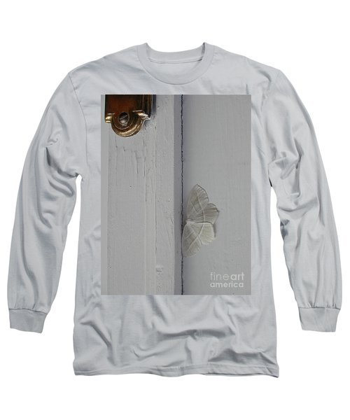 Ghost Doorbell Moth Long Sleeve T-Shirt