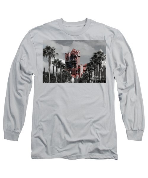 Ghostly At The Tower Long Sleeve T-Shirt