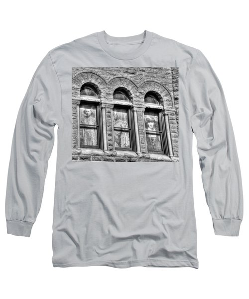 Ghosts Long Sleeve T-Shirt by Mark Alder