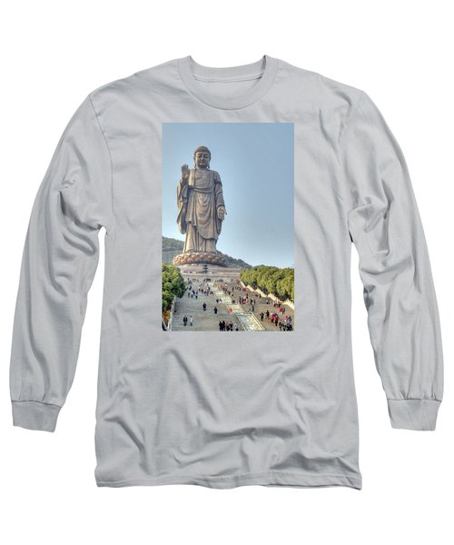 Giant Buddha Long Sleeve T-Shirt
