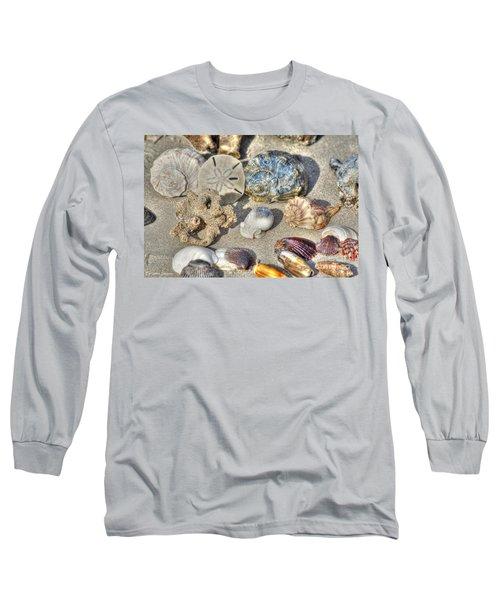 Gifts Of The Tides Long Sleeve T-Shirt by Benanne Stiens