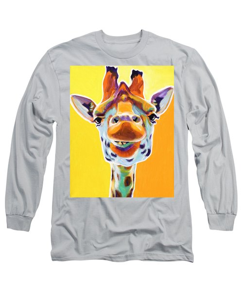 Giraffe - Sunflower Long Sleeve T-Shirt
