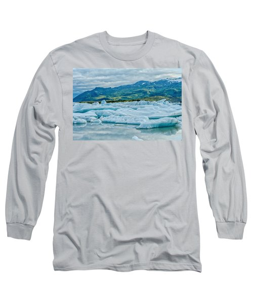 Glacier Lagoon  Long Sleeve T-Shirt