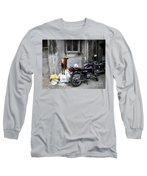 Goatercycle Long Sleeve T-Shirt