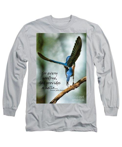 God Will Provide A Hello Long Sleeve T-Shirt