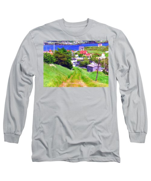 Going Down To Town Long Sleeve T-Shirt