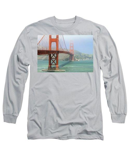 Long Sleeve T-Shirt featuring the photograph Golden Gate by Steven Bateson