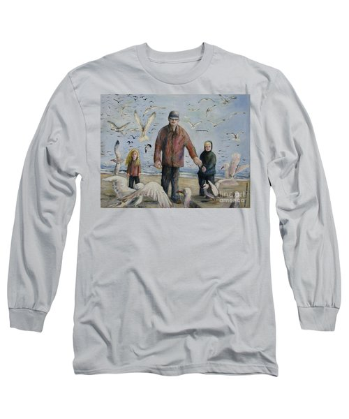 Grandfather Brother And Sister Long Sleeve T-Shirt