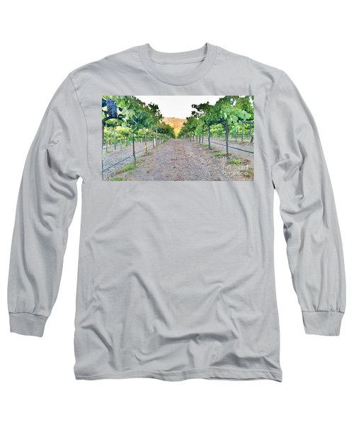 Grape Vines Long Sleeve T-Shirt