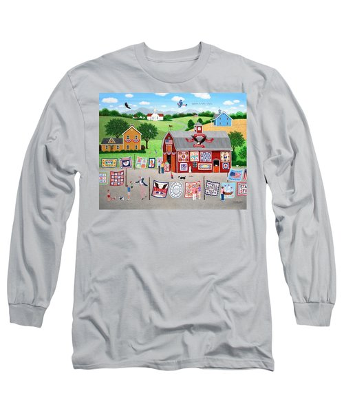 Great American Quilt Factory Long Sleeve T-Shirt