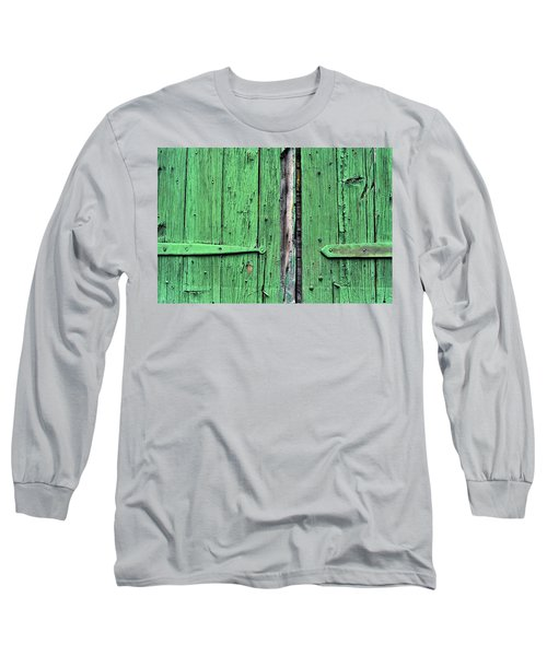 Green Door Long Sleeve T-Shirt by Steve Archbold