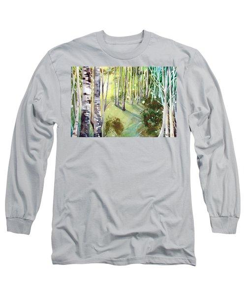 Green Sun Long Sleeve T-Shirt