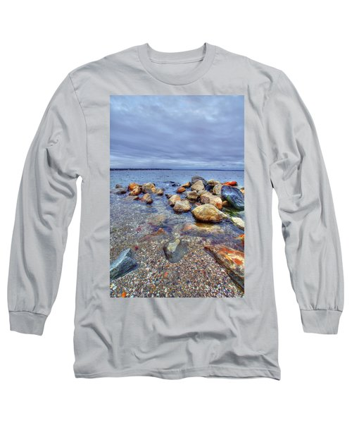 Long Sleeve T-Shirt featuring the photograph Greenwich Bay by Alex Grichenko