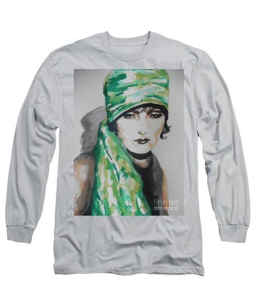Greta Garbo Long Sleeve T-Shirt