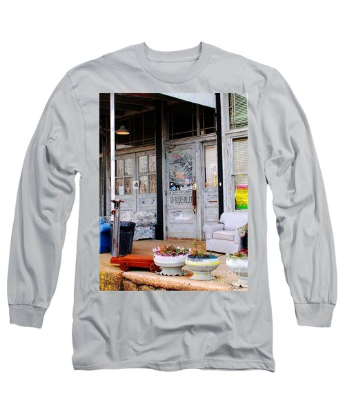 Ground Zero Clarksdale Mississippi Long Sleeve T-Shirt