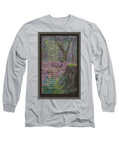 Long Sleeve T-Shirt featuring the photograph Grow Old With Me by Brooks Garten Hauschild