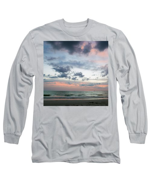 Gulf Of Mexico Sunset Long Sleeve T-Shirt