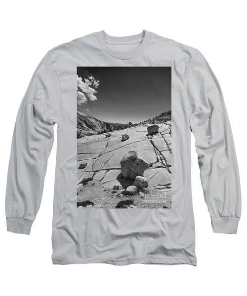 Half Dome From Olmsted Point Long Sleeve T-Shirt by Terry Garvin