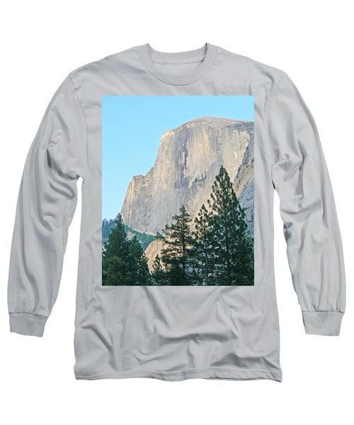 Half Dome Yosemite Long Sleeve T-Shirt by Laurel Powell