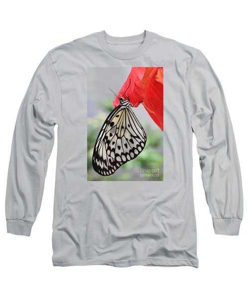 Long Sleeve T-Shirt featuring the photograph Hanging On #2 by Judy Whitton