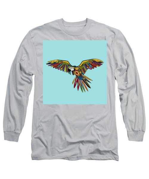 Harlequin Parrot Long Sleeve T-Shirt