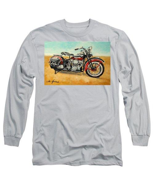 Harley Davidson Panhead Long Sleeve T-Shirt