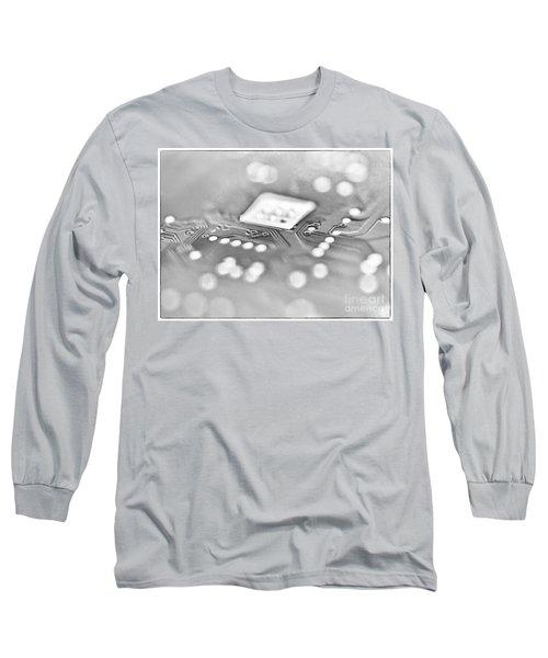 Hartddrive High Key Black And White Long Sleeve T-Shirt